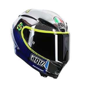 AGV Casque moto intégral course Valentino Rossi Mugello 2015édition limitée, multicolore, XL