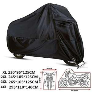 Anftop – Housse, bâche pour moto, scooter, imperméable, en 210D XL(230*95*125cm)