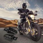 Beimaji Trade 1 Paire Pédales Moto Repose-Pieds Pédales Modifiées Pied Support en Fer pour Yamaha PW 50, Motocross, Moto