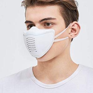 BX Masque Anti-buée pm2.5 Masque électrique Intelligent, Anti-formaldéhyde Respirant et Respirant, Actif pour Hommes et Femmes