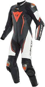 Dainese Misano 2 D-Air Combinaison de moto perforée en cuir