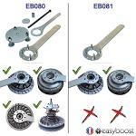 Easyboost Clés Bloque Variateur Yamaha TMAX 500-530 Outils Indispensables pour Démonter, Changer Les Galets et la Courroie – Faire sa Révision – Fabriqué en France