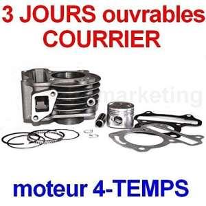 Générique CC Cylindre Haut Moteur Piston Complet KIT pour KYMCO 139QMA 139QMB 4TEMPS