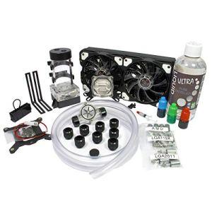 Liquid Cool Vortex One Advanced DIY Kit de refroidissement à eau 240 mm