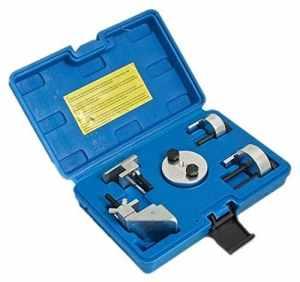 Outil de montage S-BS268 pour courroies de transmission élastiques ‑ kit 5pièces avec coffret de rangement