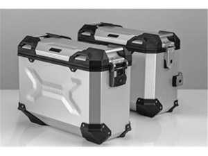 Page de valise Trax ADV, aluminium, argent, SW Motech