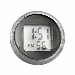 Rungao 1pcs Moto Bike Horloge montre étanche Autocollant Moto Digital Clock
