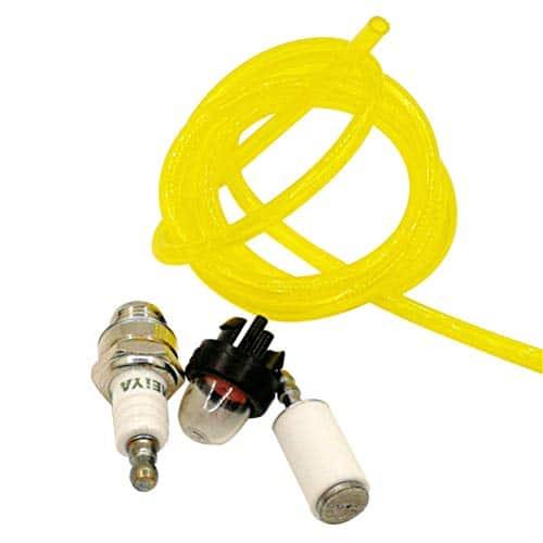 Shioshen Primer ampoule kit de tuyau à carburant filtre Bougie d'allumage pour Husqvarna Craftsman McCulloch tronçonneuse tondeuse souffleur