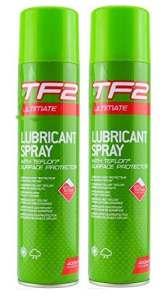 TF2Aérosol Ultime avec Teflon® (400ml). Lot de 1, 2, 3, 4, 6ou 12, 2 x 400ML Cans