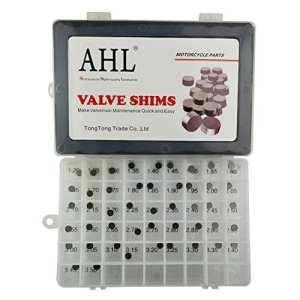 AHL 7.48mm Complete Hot Cams valve kit de cale Valve Shim pour Kawasaki KLX250R 1994-1996/KLX250 1979-1980/KLE650 Versys 2008-2010 (1x47pcs)