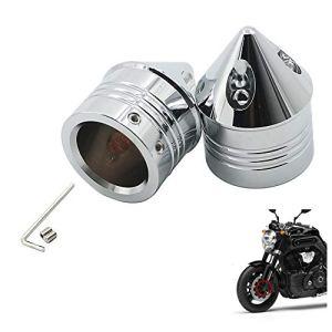 Alpha Rider Cache-écrou pour essieu Avant pour Harley Dyna Touring Street Glide Road King Road Glide Softail XG XL VRSC