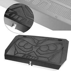 GZYF Protection de grille de radiateur en acier inoxydable pour Kawasaki Z1000 2007-2016 Z750 2007-2012 Noir