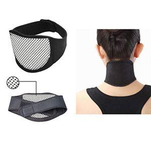 Outtybrave Tour de cou auto-chauffant Ceinture magnétique pour tourmaline Support de cou
