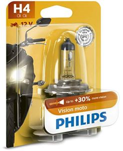 Philips 0730612 Ampoule Spéciale 12342PRBW H4 Motovision