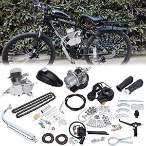 Sange 50 CC 2 Cycle Hub à Essence Moteur à gaz Kit motorisé Moto Bike Kit pour Moto 26 » and 28 Bicycle VTT Cruiser Chopper
