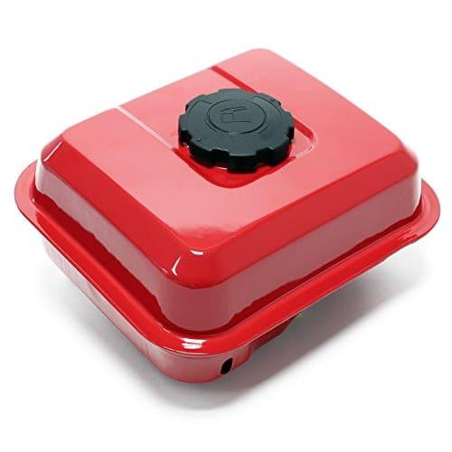 WilTec Pièce détachée Reservoir d'essence Rouge pour Les Moteurs a Essence 6,5 CV