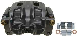 ACDelco 18FR12307 Professional Front Driver Side Disc Brake Caliper Assembly without Pads (Friction Ready Non-Coated) Remanufactured