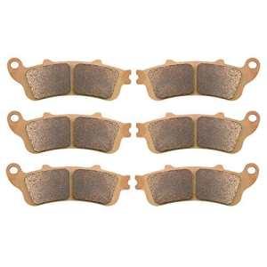 AHL 3 paires kit Plaquettes de frein pour XL 1000VX/VY/V1/V2Varadero(No ABS) 1999-2002