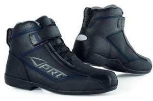 Chaussures Moto Motard Piste Racing Vetements Sportifs Cuir Homme noir 41