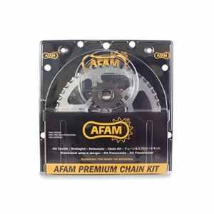 Afam 01270203 Kit chaîne de moto – kit acier pour YAMAHA FZS 600 Fazer 1998 – 2003