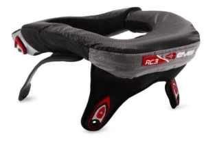EVS Race Collar R3 Black YOS