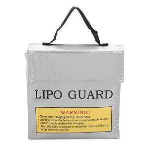 FTVOGUE Protégez Le Sac de sécurité Anti-déflagrant de Batterie de Lipo de Sacs de Remplissage avec 3 Tailles(01)