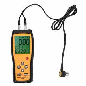 Jauge d'épaisseur à ultrasons numérique multifonction AS860 SMART SENSOR 1.0-300.0mm (acier)