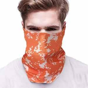 JIANGfu Banbanbana en plein air imprimé camouflage masque visage pour cyclisme, randonnée, activités de moto en plein air, masque de visage multifonction