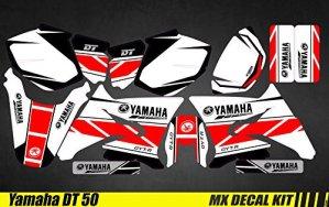 Kit Déco Moto/MX Decal Kit Yamaha DT50 – Replica 2016