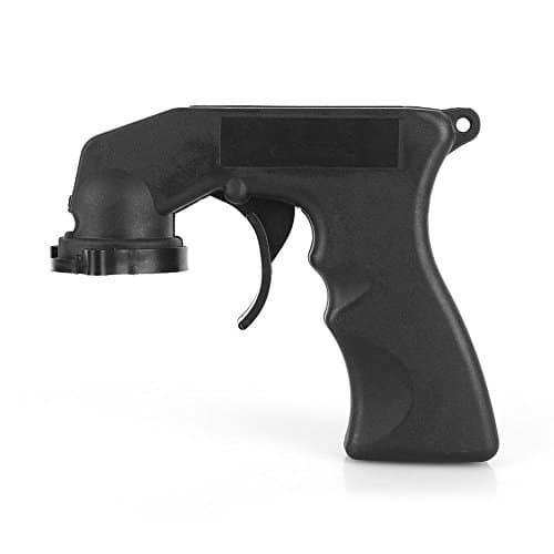 sunborui Poignée de Pistolet Universel Pistolet à Peinture Gun Aérosol Spray en Plastique Noir