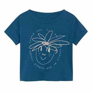 Viewk pour Les Enfants Nouveau-né Bébé Enfants Garçon Fille De Bande Dessinée Fruits T-Shirt À Manches Courtes Tee Tops Vêtements