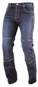 A de Pro Motorbike Denim Jean Pants kèvlar Lined Trousers Motorbike CE Bracelet Ours Blue 30