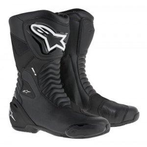 Alpinestars 2063_23168 Bottes Moto SMX S S, Noir, 43