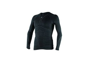 Dainese-D-CORE THERMO TEE LS, Noir/Anthracite, Taille M
