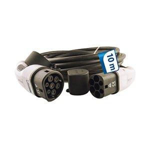 EV Câble de charge 16A type 2de type 2–10mètres de câble pour Wall Box triphasée
