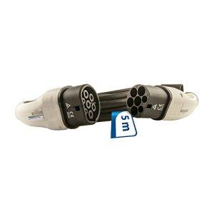 EV Câble de charge 16A type 2de type 2–5m câble pour Wall Box monophasé