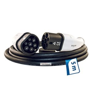 EV Câble de chargement 32A type 2de type 2–5m câble pour Wall Box monophasé