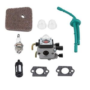 TOPINCN Remplacement de kit de carburateur pour STIHL FS55 FS55R FS55RC FS38 KM55 HL45 KM55R Moteur abordable Pièces Accessoires