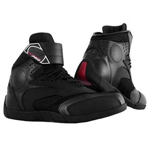 A-pro Chaussures Grip Renforts Moto Motard Bottes Sonic-Moto Comfort Offre noir 42