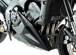 Powerbronze Yamaha FZ-1N/FZ1000Fazer 06-15/mat Sabot moteur filet noir/doré
