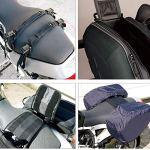 Sacoche moto, Sacs de Selle de moto Sacs de Voyage imperméables Grande capacité