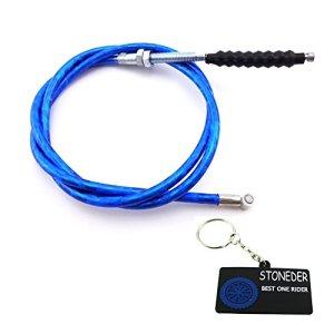 Stoneder 1070mm Bleu câble d'embrayage pour Pit Dirt bike chinois Lifan Yx SSR Thumpstar SDG Ycf Baja TTR CRF50CRF70Klx110Moto