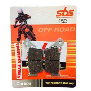 CF Moto 650NK 14 15 16 / 650TK 14-15 SBS Performance Plaquettes de Frein arrière en Carbone pour Course Hors Route Qualité OE 675CS