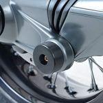 H2Racing Rear Moto Swingarm Arbres Protection Remplacer BM-W K1200GT 2006-2008,K1200R/S All Years,K1300GT/R 2009-2015,K1300S 2009-2016