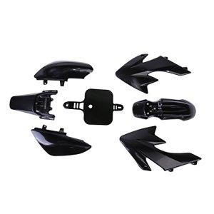 Vanpower Plastique Noir Carénage pour Honda CRF XR 50CRF 125cc SSR Pro Pit Dirt bike