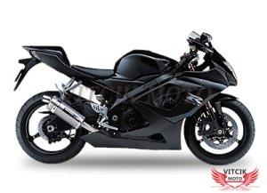 VITCIK (Kits de Carénage fixation GSXR1000 K5 2005 2006 GSXR 1000 GSX R1000 K5 05 06) Moule pour injection de plastique ABS Parties cycle de motos(Noir) A098