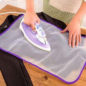 Zerama Handy Repassage Mat Fer de ménage Filet de Protection en Tissu de Repassage Scorch Isolation Thermique Pad Couleur aléatoire