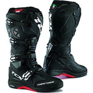 9661 – TCX Comp Evo Michelin Motocross Boots 44 Black (UK 9.5)