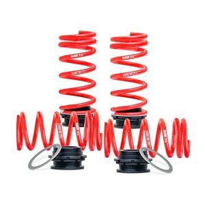 H&R HR 230001 Système de Ressort réglable en Hauteur 5 F10 Sedan & 6-Série F06 Gran Coupé 2/4WD 2010-AV30-55/AR25-50mm, Rouge