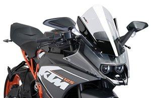 Puig 7646H Touring Dome pour Yamaha MT-09 Tracer 15′-17, Fumé